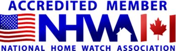 Licensed, Bonded, Insured and Accredited Members of the National Home Watch Association